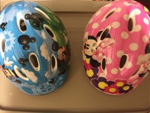 Mickey and Minnie bike helmets in Chicago, Illinois