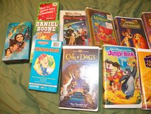 VHS Disney/Children's Tapes in Kingwood, Texas