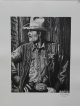 """""""Law West of the Pecos"""" Limited Edition Art Print in Gainesville, Georgia"""