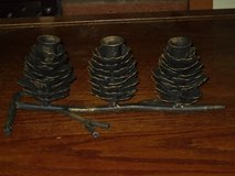 iron 3-taper candle holder in Lockport, Illinois