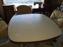 Dining table with leaf & 4 Chairs in Fort Knox, Kentucky