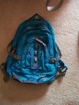 teal backpack in Cherry Point, North Carolina