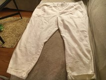 XL White Ankle Pants in Bolingbrook, Illinois