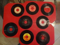 50 plus 45 RPM's in good condition in Houston, Texas