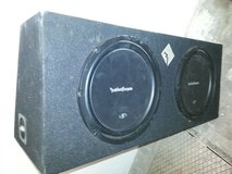 12in Subwoofer and amplifier in Baumholder, GE