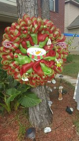 Holiday wreaths now on sale in Conroe, Texas