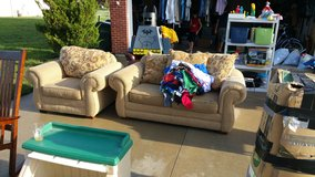 Yard sale! in Fort Leavenworth, Kansas
