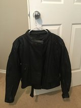 Women's motor cycle jacket in Kingwood, Texas