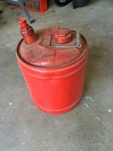5 gallon metal gas can in Brookfield, Wisconsin