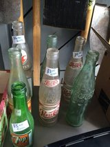 7 old bottles in Brookfield, Wisconsin