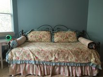 Beautiful custom day bed bedding in Houston, Texas