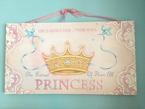 Princess art canvas in Houston, Texas
