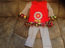 Toddler winter outfit in Beaufort, South Carolina