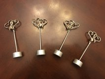 """Hearts"" Wedding Place Card Holders-Wedding Decor in Fort Campbell, Kentucky"