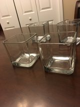 Small Square Vases-Wedding Decor in Fort Campbell, Kentucky