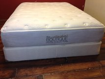 Queen Size Mattress Including Box (The Boutique Hotel Collection) in CyFair, Texas