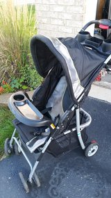 Stroller with cargo basket in Morris, Illinois