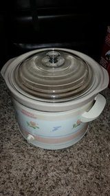 Floral 5 Qt. Crock Pot Slow Cooker in Clarksville, Tennessee