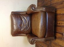 Bradington-Young Haskins Leather Recliner in CyFair, Texas