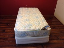 Twin Size Mattress Including Box Spring (PERFECT SLEEPER SPRINGMILL) in CyFair, Texas