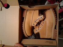 Timberland boots size 5c in Fort Lewis, Washington
