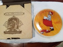 Norman Rockwell Christmas Plate in Conroe, Texas