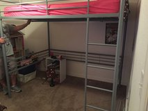 Full sized loft bed in Nellis AFB, Nevada