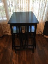 Bar Table with two stools in Fort Riley, Kansas