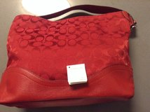 Coach Red Signature Shoulder Purse in San Diego, California