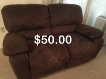 Two recliner love seats and coffee table in Fort Lewis, Washington