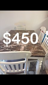 Kitchen Table in Fort Lewis, Washington