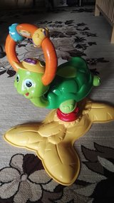 "Vtech "" Daddys littleTurttle"" jumper,w/Sound,music,light. in Ramstein, Germany"