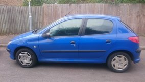 Peugeot 206 1.1 Style blue 5 door in Lakenheath, UK