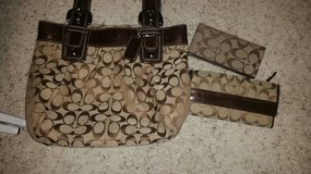 Coach Purse Wallet and Checkbook cover in Conroe, Texas