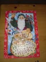 "13 x 20"" Xmas puzzle in tin in Chicago, Illinois"