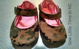 USMC Mary Jane Baby Shoes in Cherry Point, North Carolina