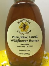 Pure, Raw, Local, Unfiltered Honey in Houston, Texas