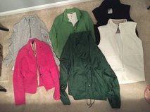 lot of jackets sizes/vests medium-large in Moody AFB, Georgia