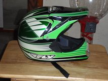 FLY Green and Black dirt bike helmet youth medium in Barstow, California