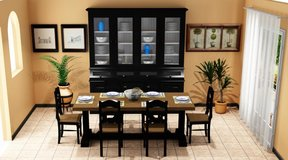 Provincial Dining Room Set including delivery in Vicenza, Italy
