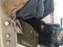 Boys lot 5 pairs of jeans 3 shorts in Fort Rucker, Alabama