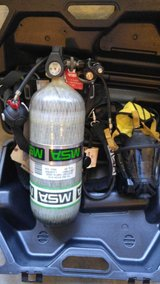 MSA Airhawk High Pressure Self Contained Breathing Apparatus in Fort Campbell, Kentucky