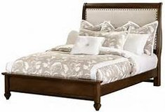 CLEARANCE ~ Queen Cherry Bed & Nightstand in Beaufort, South Carolina