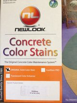 New look concrete color stain in Travis AFB, California