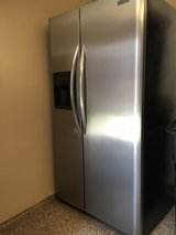 Frigidaire Side by Side Frost Proof Refrigerator/Freezer in Houston, Texas