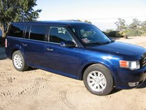 2011 Ford Flex SEL, Seats 7 people, leather, moonroof, All power, High impact blue color in 29 Palms, California