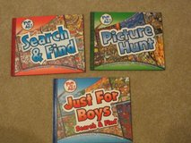 "BRAND NEW-  3 Hardback Books!  ""Search and Find"", ""Picture Hunt"", and ""Just for Boys"" in Kingwood, Texas"