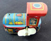 Vintage Tin Toy Friction Train Engine Made in Japan in Cherry Point, North Carolina