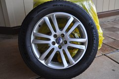 Volvo XC-90 Winter Tires Set in Kaneohe Bay, Hawaii