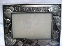 """NEW Six Trees Girl's Night Out Ladies Pewter Picture Frame Decor Memories 4""""x6"""" in Kingwood, Texas"""